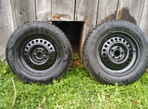 2 tires and 2 rims (SOLD)