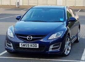 *SPECIAL EDITION* 2010 MAZDA 6 2.0L TAMURA, 1 P OWNER FSH, NOT FORD MONDEO, Volvo S40, HONDA ACCORD