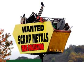 FREE FREE FREE SCRAP METAL WANTED FREE COLLECTION MAN & VAN