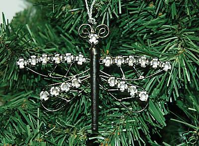 Dragonfly Ornaments (Dragonfly, Dragon Fly, Christmas)
