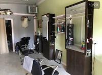 Hair salon for rent