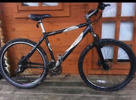 """Venturea medium/large Adults mountain bike. 26"""" disk brake wheels"""