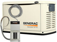 16kW Generac Generator + 16-Circuit Automatic Transfer Switch