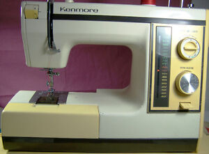 KENMORE PORTABLE 16 MULTI-STITCH SEWING MACHINE READY TO SEW