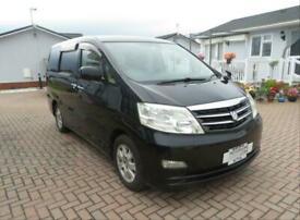 Toyota Alphard 2 Berth Day Van for Sale