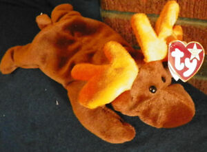 TY ORIGINAL BEANIE BABIES FROM 1990'S - WITH TAGS