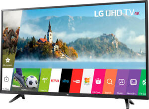 NEW IN BOX BNIB One of the best TV in the market LG ThinkQ AI 43