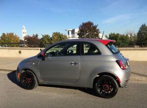 Fiat 500 POP Sport 2015 37000 km Une Taxe!  IMPECCABLE!
