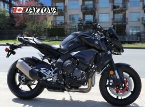 2017 Yamaha FZ-10 Matte Dark Metallic Gray with Black