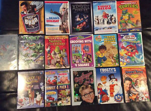 DVD'S And Kids DVD'S!!! Over 100 Movies!!