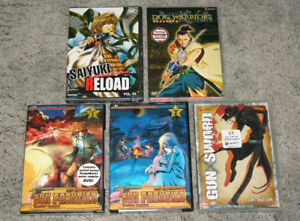 Japanimation DVDs Lot of 5 NEW Anime