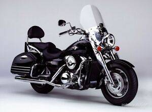 Kawasaki Vulcan 1500 with bad engine