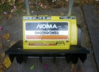 NOMA 1500 Electric Snowthrower Snowblower
