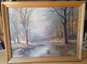 Antique Robert Wood Painting For Sale...