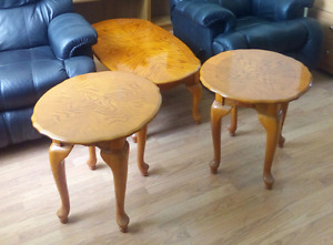 Real wood tables