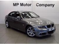2010 60 BMW 3 SERIES 2.0 318D M SPORT 141 BHP 4 DR 6 SP AUTO DIESEL SALOON, GREY