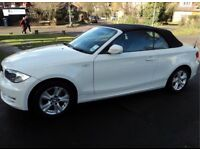 BMW 1 Series Convertible- White *AMAZING VALUE*