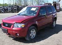 MOTEURS FORD ESCAPE 4 CYL 04-05-06-07-08-09 $ 1199 POSÉ