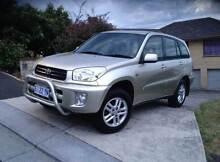 2003 Toyota RAV4 EXTREME SUV, 4WD, AUTO, LOW KM, Full Service Log Hobart CBD Hobart City Preview