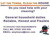 Let the Towse, Clean the HOUSE!