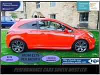 Vauxhall Corsa 1.6 i Turbo 16v VXR 3dr £5,595 FSH,NEW TIRES,6 MONTH WARRANTY