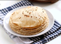Hello there we are taking orders to make chappati(thinner rotis)