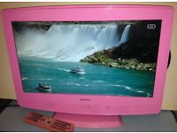 "BUSH 19"" LCD TV with built-in DVD Player"