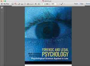 Forensic and Legal Psychology - Costanzo & Krauss