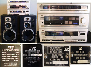 JVC Home Audio Stereo System