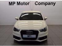 2011 11 AUDI A1 1.4 TFSI S LINE 3D 122 BHP 6SP SPORTS HATCH,WHITE, 53-000M FASH