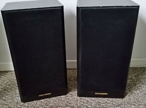 80 watt Genexxa speakers, Made in Canada