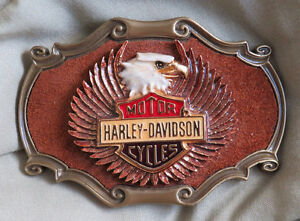 Harley-Davidson Belt Buckle - Never used - like new condition