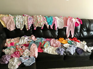 Great condition baby clothes pet/smoke free home 57 items