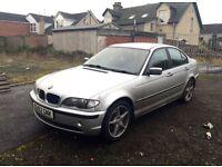 BMW 320d manual 2002