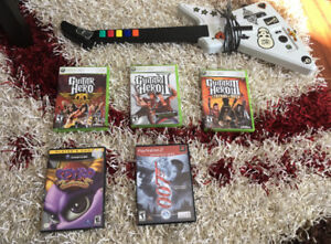Xbox 360, PS2 and Gamecube games for sale