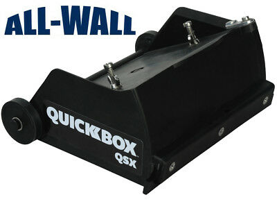 Tapetech Quickbox 6.5 Drywall Flat Finishing Box For Hot Mud Qb06-qsx New