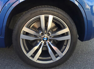 """FS - BMW X6M 20"""" OEM Rims and Tires $1,700"""