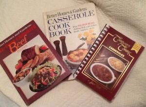 3 FABULOUS RECIPE BOOKS for $5!   THAT'S RIGHT!  3/$5!!!COMPANY