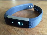 Fitbit Alta fitness tracker silver/black