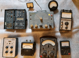 Selection of old test equipment