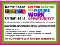Home Based BABY Event Organisers Required in Suffolk