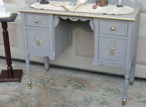 Antique Victorian Vanity (solid wood)