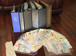 *RARE OPPORTUNITY* Huge banknote collection up for sale