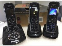 Panasonic KXTG8324 Trio with Answer Machines