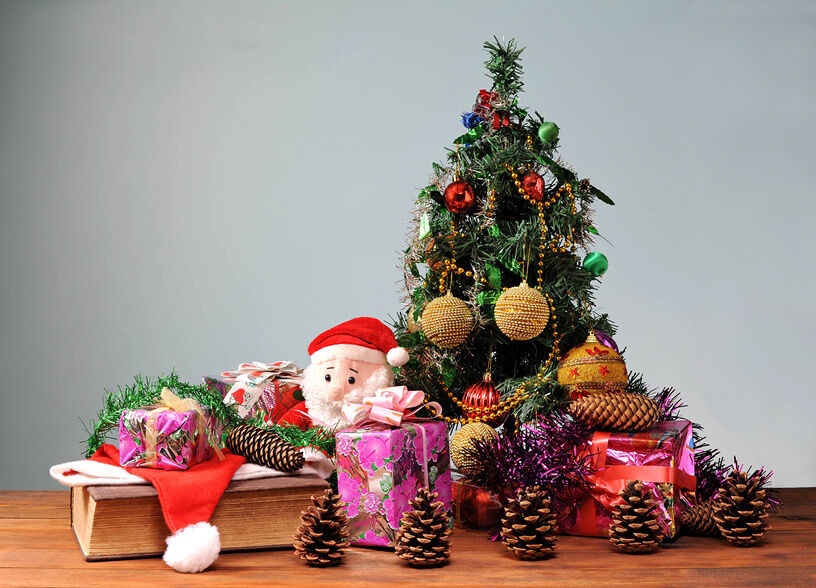 Creative Christmas Tree Ideas For Small Spaces Ebay