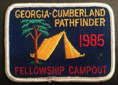 1985 Georgia Cumberland Conference Camporee Pathfinder Patch