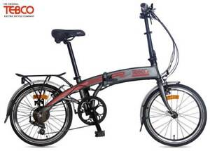 Tebco Journey Folding Classic eBike (Grey)(White) 2019 rrp$1799 Concord West Canada Bay Area Preview