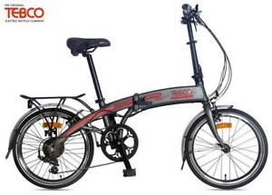 Tebco Journey Folding Elite eBike (Grey)(White) 2019 rrp$1999 Concord West Canada Bay Area Preview