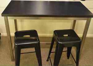 Package Bar Table + Bar stools (2) Coogee Eastern Suburbs Preview