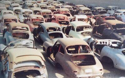 1955 Porsche Speedster 356 Original Parts And Accessories For Sale